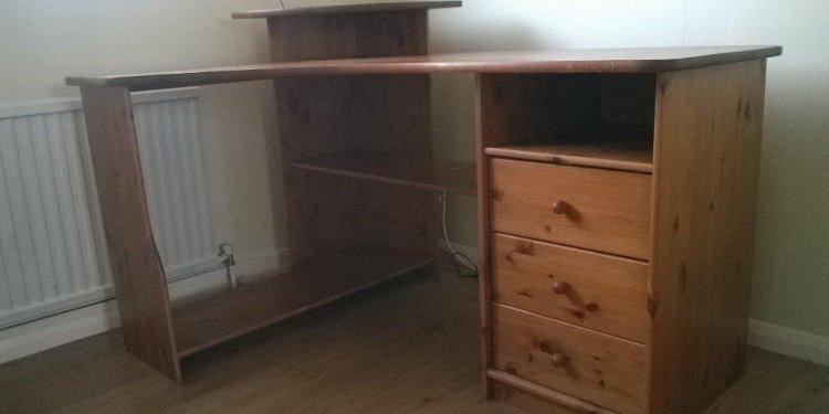 Home Office Corner Desk Unit
