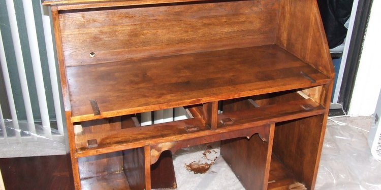 Antique Secretary Desk Restoration