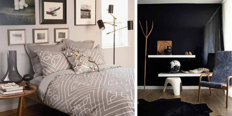 Bedroom Wall Colors -3 Black