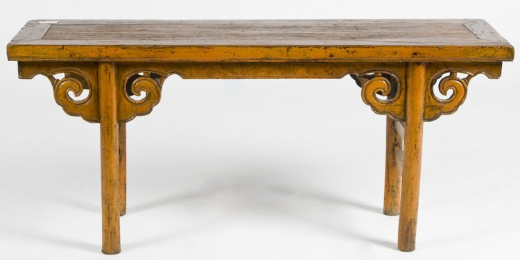 Cn1004y-antique-rustic-chinese-bench