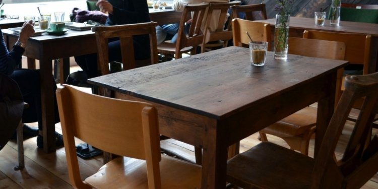 Cafe Coffee Table