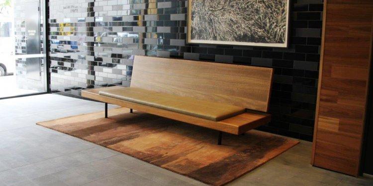 A designer furniture piece