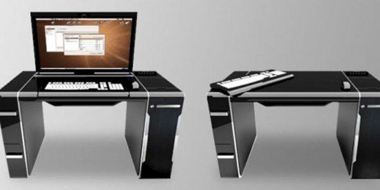 Desk : Computer Storage Desk