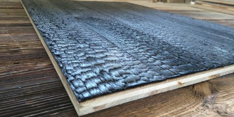 Shou Sugi Ban 3 layer panel