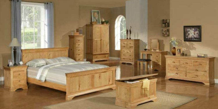 Oak bedroom furniture