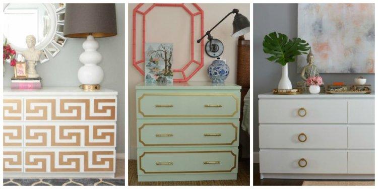 IKEA MALM Dresser DIY Ideas