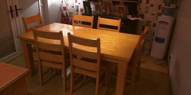 Large Solid pine table and