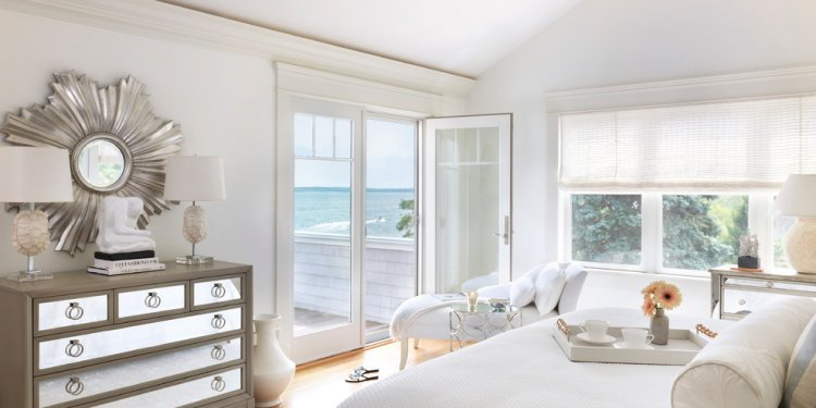 Mirrored Dresser Bedroom Beach