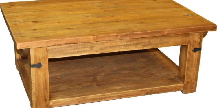 New Pine Wood Coffee Table