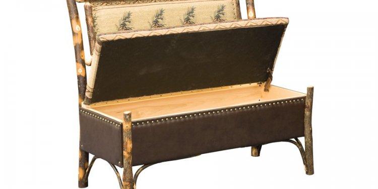 Hoosier Storage Bench