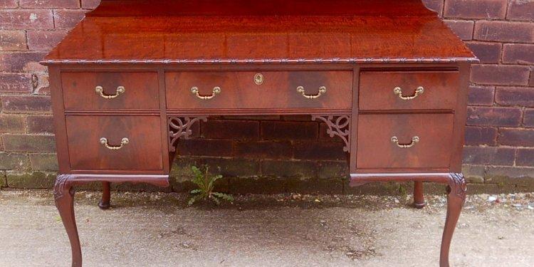 Bath Cabinet mahogany ladies