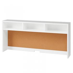 Cargo Desk Hutch (White)