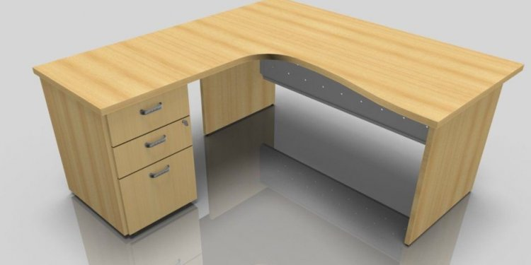 Desk with File Cabinet Drawer