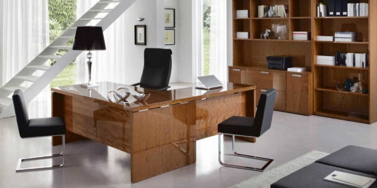 White Office Desks for Home