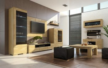 Modern tv units and entertainment centres by Concept muebles