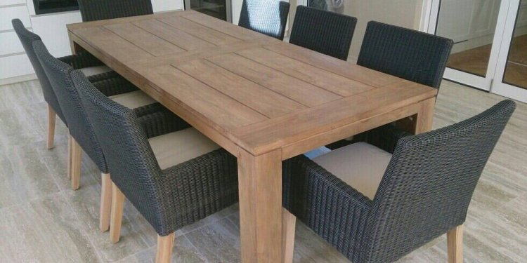 Outdoor Timber Dining Table