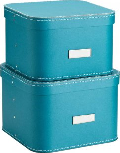 pretty blue storage boxes oskar boxes