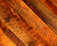 Antique Heart Pine lumber