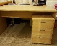 Bureau Writing Desk with drawers