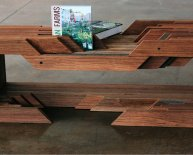 Furniture made of Reclaimed wood