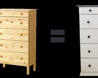 Ikea five drawers Dressers