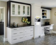 Kitchen Hutch with Desk