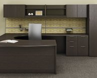 Office Desk With Hutch storage