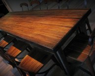 Reclaimed Wooden Dining Tables