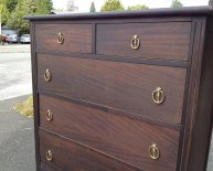 Tall Dresser With Mirror
