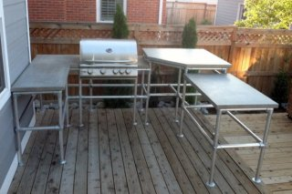 Ultimate Outdoor Kitchen Island
