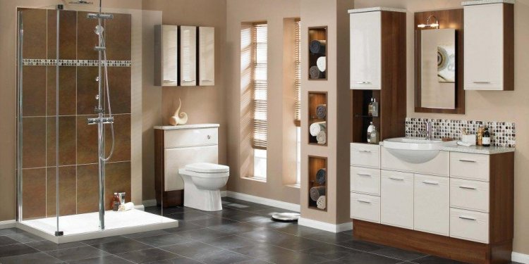 Utopia fitted Bathroom furniture